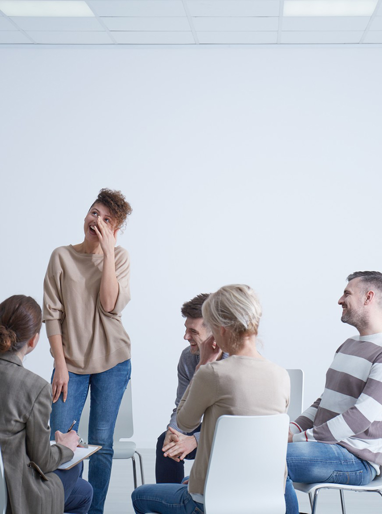 People on psychotherapy